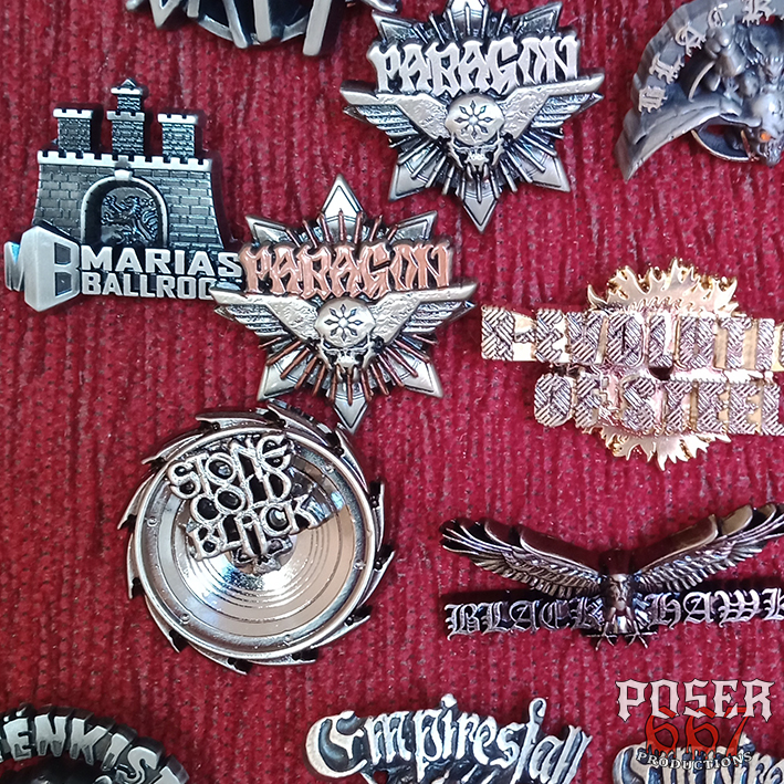 3D Metal Pin Poser667 Productions Paragon