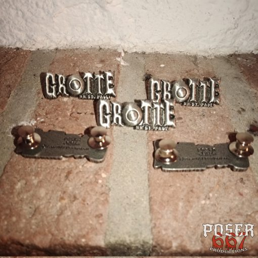 Grotte 3D Metal Pin Poser667 Productions