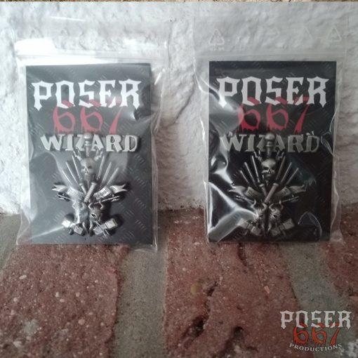 Wizard 3D Metal Pin