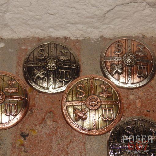 Stormwarrior 3D Pin - Viking Shield