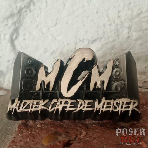 Cafe de Meister 3D Pin