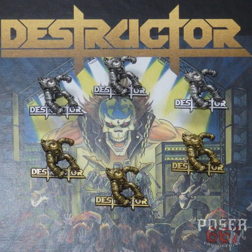 Destructor 3D Metal Pin