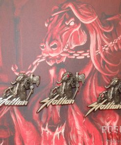 Stallion 3D Pin