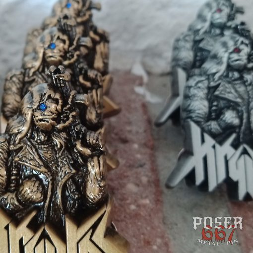 Kryptos 3D Pin