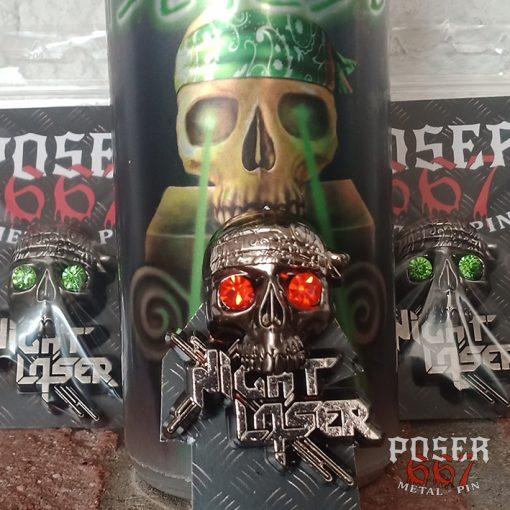 Night Laser 3D Pin