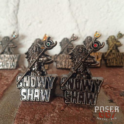 Snowy Shaw 3D Pin