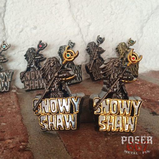 Snowy Shaw Pin
