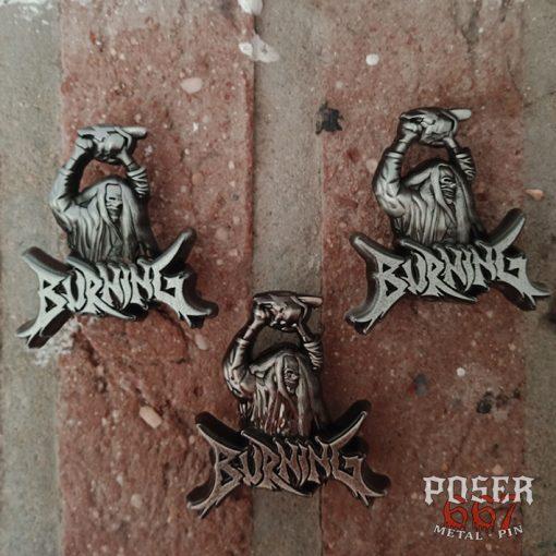 Burning 3D Pin